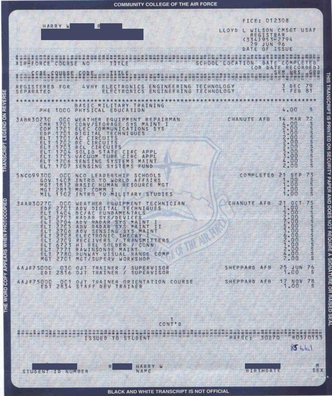 CCAF transcripts